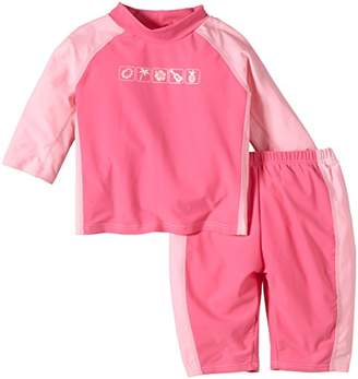 I Play Baby Shirt and Pants/Trousers for Girls with Prints Mashine Wash, Pink, 6-9 Months Medium