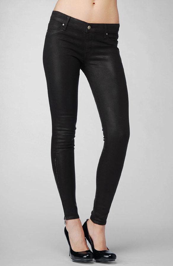 Legacy Zip Legging - Slick Black