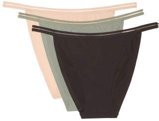 3pk Fusion Microfiber Bikinis