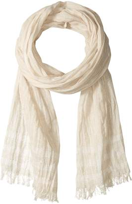 John Varvatos Men's Boarder Stripe Scarf