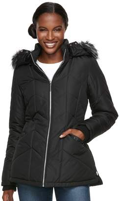 Details Women's Hooded Quilted Jacket