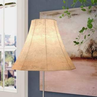 Alcott Hill Faux Leather Bell Lamp Shade