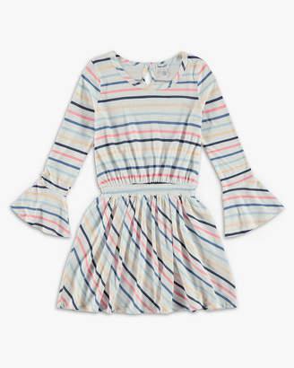 Splendid Stripe Long Sleeve Dress