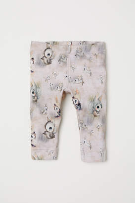 H&M Leggings with Printed Design