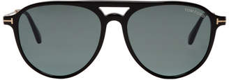 Tom Ford Black and Gold Carlo 02 Sunglasses