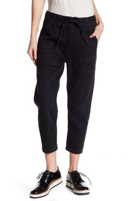 Vince Patch Pocket Slim Cropped Utility Pants