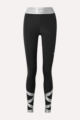 Nike Pro Dri-fit Leggings - Black