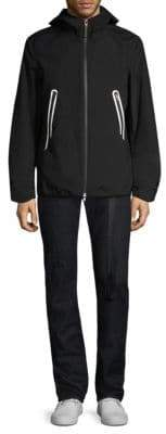 Black Barrett Heat Seal Zip Jacket