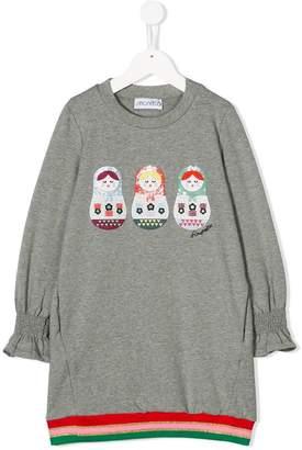 Simonetta matryoshka doll sweater dress