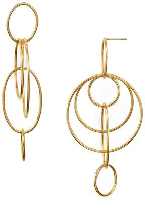 Argentovivo Orbital Drop Earrings