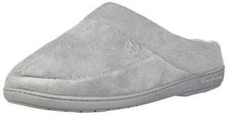 Dearfoams Women's Microfiber Terry Moc Toe Clog Slipper