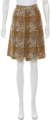 Tory Burch Silk Mini Skirt