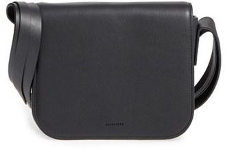 ALLSAINTS 'Ikuya' Leather Crossbody Bag $248 thestylecure.com