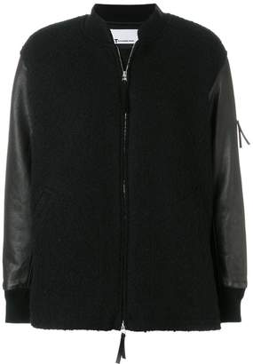 Alexander Wang knitted bomber jacket