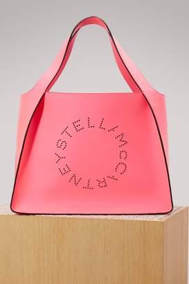Stella McCartney Stella Logo fluo tote bag