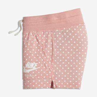 Nike Gym Vintage Younger Kids'(Girls') Printed Shorts