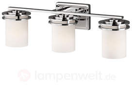 3-flammige LED-Spiegelleuchte Hendrik IP44