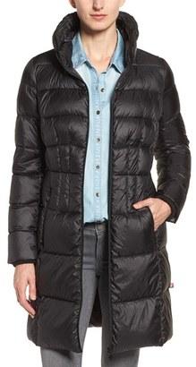 Women's Bernardo Packable Coat With Down & Primaloft Fill $188 thestylecure.com