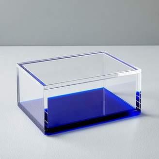west elm Acrylic Office Accessories - Landscape Blue