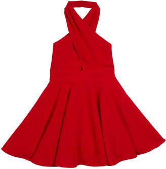Milly Sydney V-Neck Halter Dress, Size 7-16