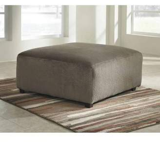 Signature Design by Ashley Flash Furniture Jessa Place Oversized Ottoman in Fabric, Multiple Colors