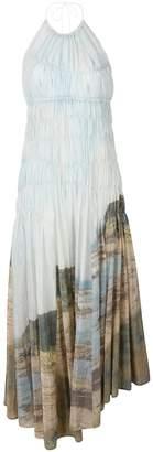 Pringle Gathered Landscape dress