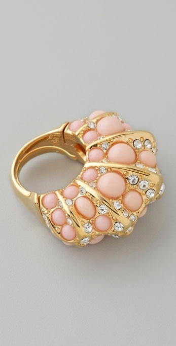 Kenneth Jay Lane Shell Ring
