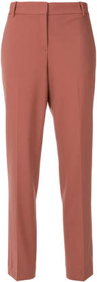 Theory straight leg tailored trousers