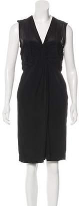 3.1 Phillip Lim Silk Sleeveless Knee-Length Dress