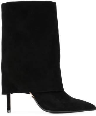 Balmain foldover top boots