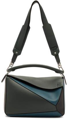 Loewe Blue Puzzle Messenger Bag