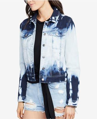Rachel Roy Tie-Dye Denim Jacket, Created for Macy's