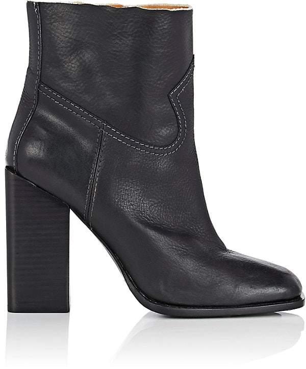 Saint Laurent Women's Jodie Leather Ankle Boots
