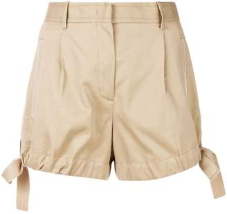Moncler side bow shorts