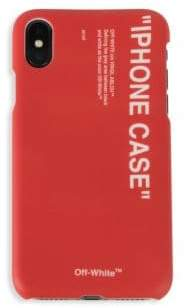 Off-White Quote iPhone X Phone Case
