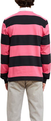 Opening Ceremony Striped Rugby Long Sleeve Top