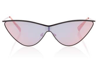 Le Specs Adam Selman X The Fugitive Acetate Cat-Eye Sunglasses