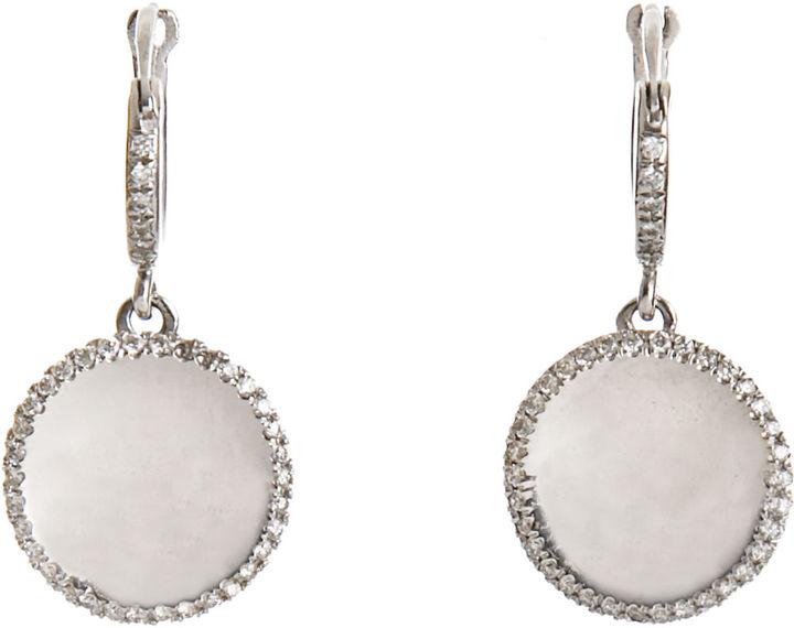 Ileana Makri Dangle Mirror Earrings