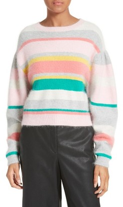 Women's Rebecca Taylor Stripe Sweater $395 thestylecure.com