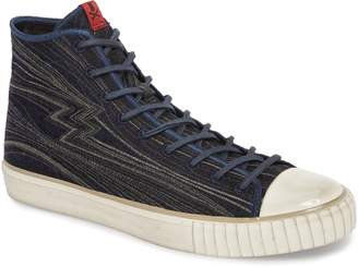 John Varvatos Collection Mid Top Engineered Sneaker