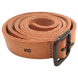 AG Adriano Goldschmied Camel Leather Belt