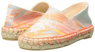 Stella McCartney Rae Marble Print Espadrilles w/ Ice Cream Cones Girl's Shoes