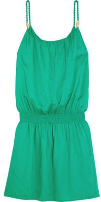 Heidi Klein Key West Voile Mini Dress $240 thestylecure.com