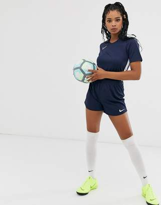 Nike Training Football academy shorts in blue