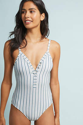 Seafolly Striped One-Piece Swimsuit