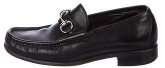 Gucci Horsebit Suede Loafers