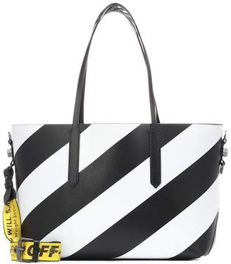 Off-White Diag leather tote