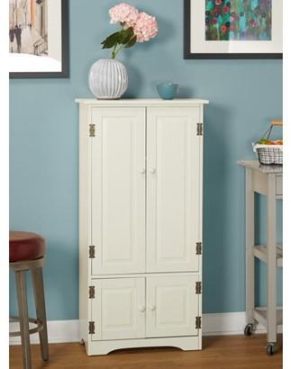 TMS Versatile Wood 4-Door Floor Cabinet, Multiple Colors