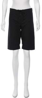 Nili Lotan Mid-Rise Knee-Length Short