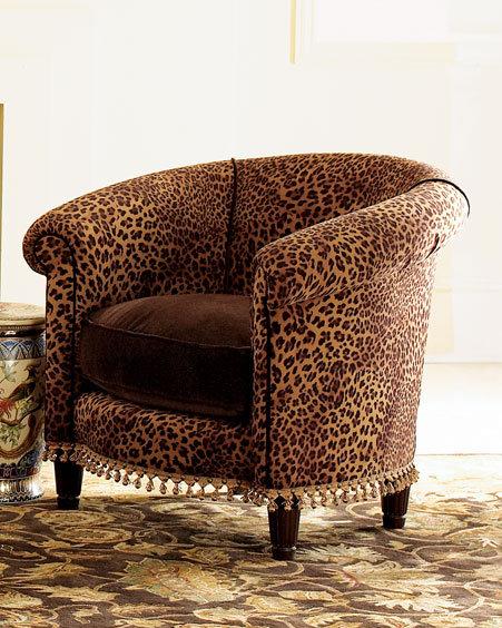 Cheetah Tub Chair